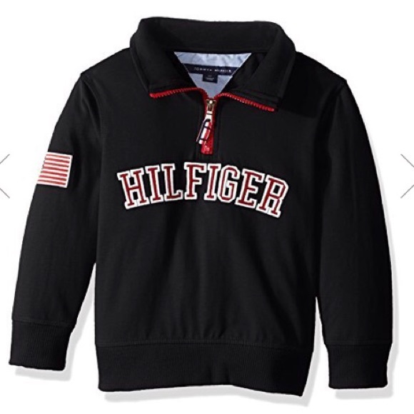 09f1b939 Tommy Hilfiger Shirts & Tops | Boys 4 Toddler Half Zip Sweater New ...